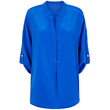 Buy Fenn Wright Manson Faye Silk Shirt, Royal Blue Online at johnlewis.com
