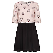 Buy Sugarhill Boutique Smart Tiger Dress, Cream/Black Online at johnlewis.com