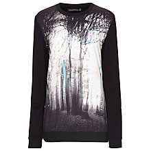 Buy Sugarhill Boutique Midnight Tree Sweater, Black Online at johnlewis.com