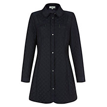 Buy Hobbs Christie Coat, Navy Online at johnlewis.com