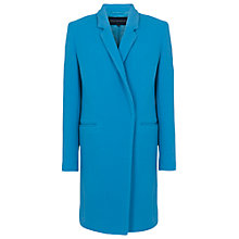 Buy French Connection Imperial Wool Blend Coat, Mosaic Blue Online at johnlewis.com