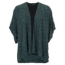 Buy French Connection Alligator Check Jacket, Green Multi Online at johnlewis.com