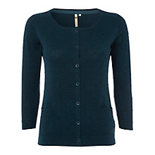 Buy White Stuff Samphire Cotton Cardigan, Hummingbird Online at johnlewis.com