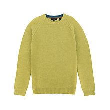 Buy Ted Baker Jetlagg Crew Neck Jumper, Lime Online at johnlewis.com