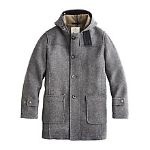 Buy Private White V.C. Duffle Coat, Grey Online at johnlewis.com