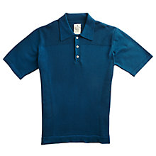 Buy Private White V.C. Waffle Short Sleeve Polo Shirt Online at johnlewis.com