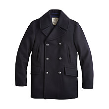 Buy Private White V.C. Manchester Peacoat, Navy Online at johnlewis.com
