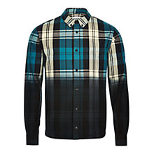Buy HYMN Travolta Dip Dye Shirt, Blue Online at johnlewis.com