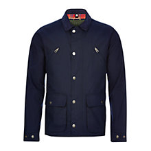 Buy HYMN Stallone 2-In-1 Wax Jacket, Navy Online at johnlewis.com