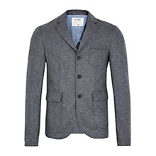 Buy HYMN Lewis Flecked Blazer, Grey Online at johnlewis.com
