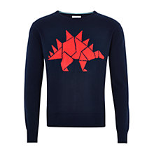 Buy HYMN Stanley Crew Neck Jumper Online at johnlewis.com