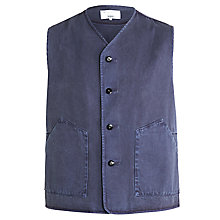 Buy Private White V.C. Goodwood Worksuit Jerkin Waistcoat Online at johnlewis.com