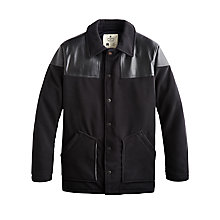 Buy Private White V.C. Donkey Jacket, Black Online at johnlewis.com