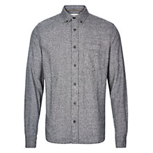 Buy HYMN Brad Twisted Yarn Shirt, Grey Online at johnlewis.com