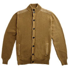 Buy Private White V.C. Cotton Waffle Cardigan Online at johnlewis.com