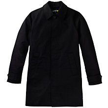 Buy Lyle & Scott Cotton Mac, True Black Online at johnlewis.com