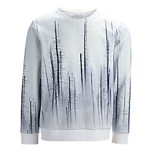 Buy Selected Homme Kilian Trees Jersey Top, White Online at johnlewis.com