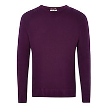 Buy HYMN Harrison Jumper, Purple Online at johnlewis.com