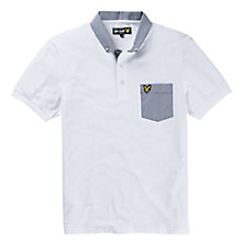 Buy Lyle & Scott Contrast Pocket Polo Shirt Online at johnlewis.com