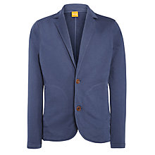 Buy BOSS Orange Wayne Jersey Blazer, Blue Online at johnlewis.com
