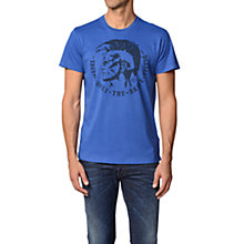 Buy Diesel Mohawk Logo Cotton T-Shirt Online at johnlewis.com