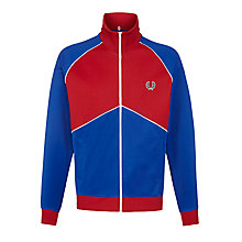 Buy Fred Perry Chevron Track Jacket, Regal Online at johnlewis.com