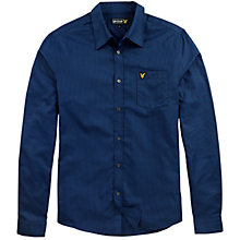 Buy Lyle & Scott Puppytooth Long Sleeve Shirt Online at johnlewis.com