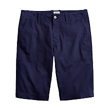 Buy Joules Sloane Cotton Poplin Chino Shorts, Navy Online at johnlewis.com