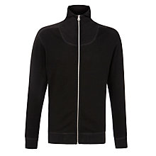 Buy Diesel S-Babylas Waffle Knit Jersey, Black Online at johnlewis.com