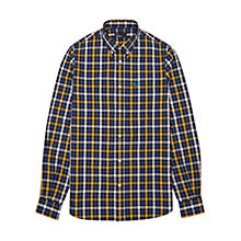 Buy Fred Perry Herringbone Large Check Shirt Online at johnlewis.com