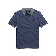 Buy Lyle & Scott Jacquard Polo Shirt Online at johnlewis.com