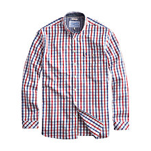 Buy Joules Hewney Long Sleeve Shirt, White/Multi Online at johnlewis.com