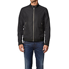 Buy Diesel J-Eiko Biker Jacket, Black Online at johnlewis.com