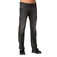 Buy Diesel Belther 822R Tapered Jeans, Grey Online at johnlewis.com