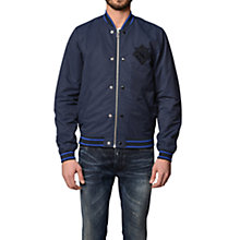 Buy Diesel J-Iowa Okagh Bomber Jacket, Navy Online at johnlewis.com