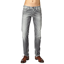 Buy Pepe Jeans Cane Slim Jeans, Grey Online at johnlewis.com