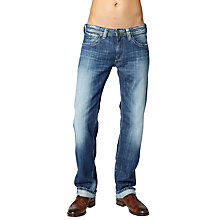 Buy Pepe Jeans Kingston Straight Jeans, Cross Hatch Crutch Online at johnlewis.com
