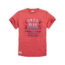 Buy Pepe Jeans Theus Clean Jersey Logo T-Shirt Online at johnlewis.com
