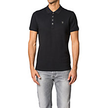 Buy Diesel T-Yahei Polo Shirt, Black Online at johnlewis.com