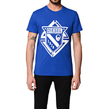 Buy Diesel Skull Logo Cotton T-Shirt Online at johnlewis.com
