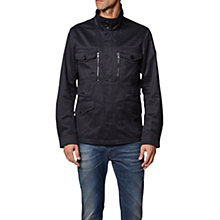 Buy Diesel J-Enzy Field Jacket, Navy Online at johnlewis.com
