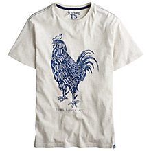 Buy Joules Cockerel Print Cotton T-Shirt Online at johnlewis.com