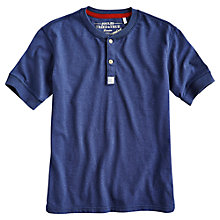 Buy Joules Somerby Henley T-Shirt, French Navy Online at johnlewis.com