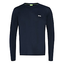 Buy BOSS Green Basic Long Sleeve Top Online at johnlewis.com