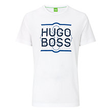 Buy BOSS Orange Logo Print T-Shirt Online at johnlewis.com