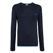 Buy BOSS Orange Cotton Blend Achidi Jumper Online at johnlewis.com