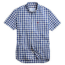 Buy Joules Wilson Short Sleeve Gingham Shirt Online at johnlewis.com
