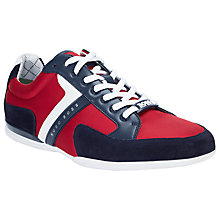 Buy BOSS Spacit Fabric Blend Trainers Online at johnlewis.com