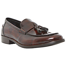 Buy Dune Ronnie Patent Leather Tassle Loafers Online at johnlewis.com