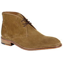 Buy John Lewis Chumbley Chukka Boots, Tan Online at johnlewis.com